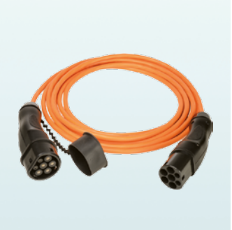 WALTHER 5 Meter AC Typ 2 Ladekabel 1-phasig 32A (9773120000)